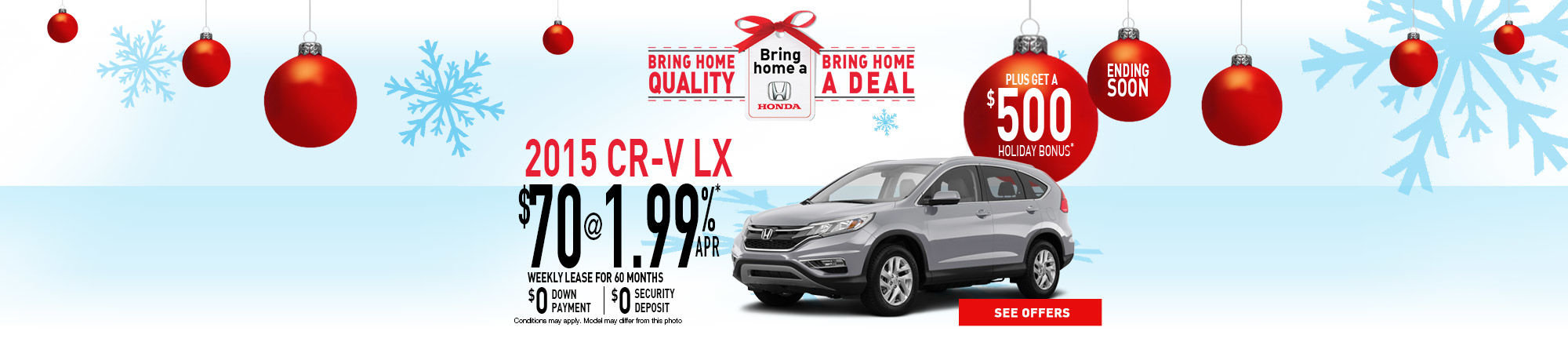 Bring Home a Honda - CR-V
