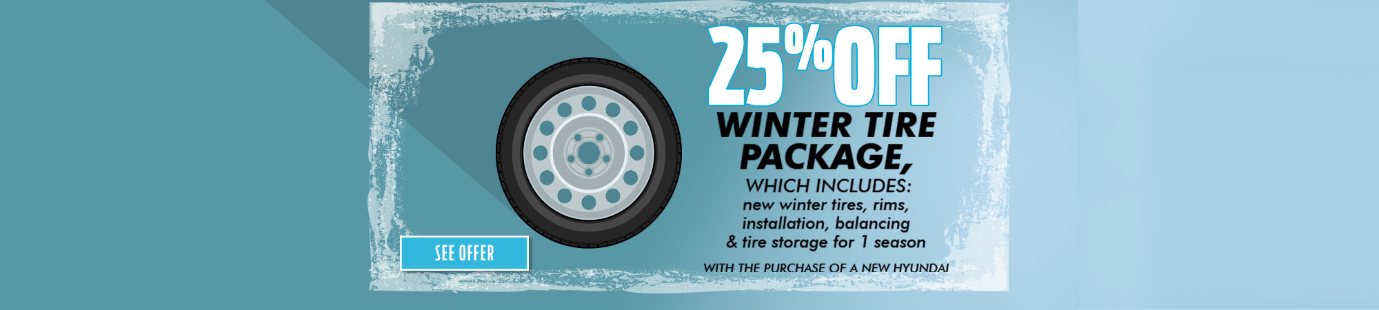25% Off Winter Tire Package