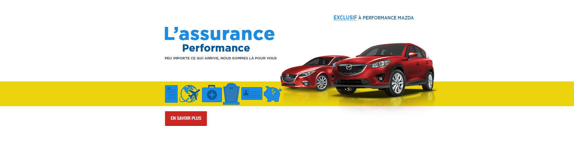 L'assurance Performance (Nouveau site)