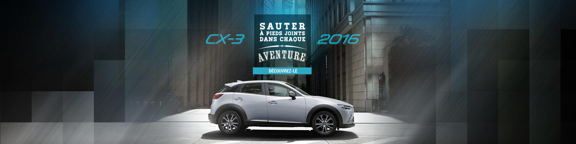 La nouvelle Mazda CX-3 (Nouveau site)