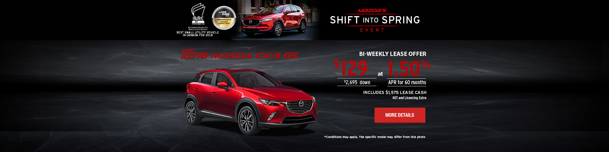 Mazda's Shift Into Spring Event - CX-3