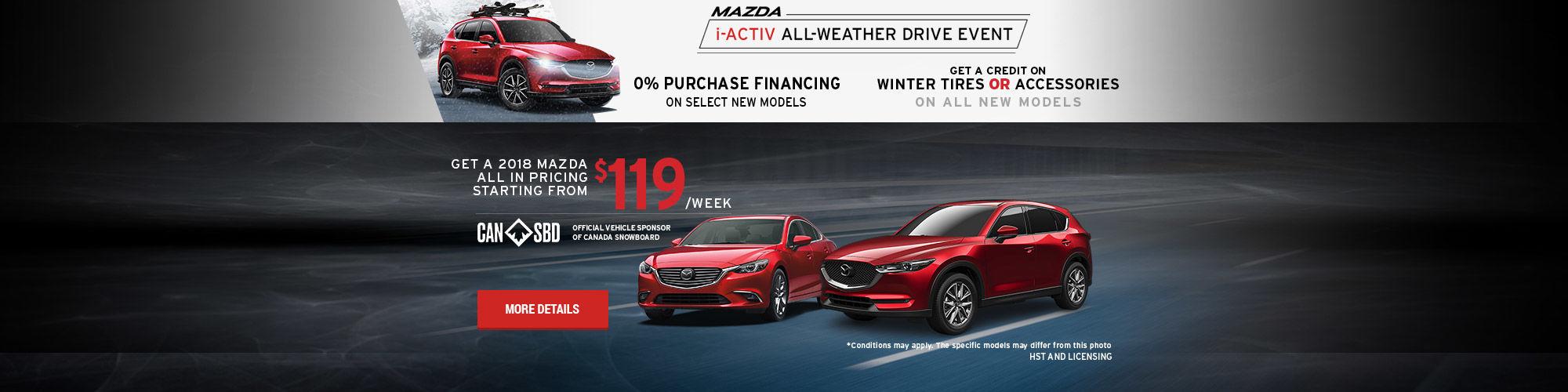 Mazda i-ACTIV Event