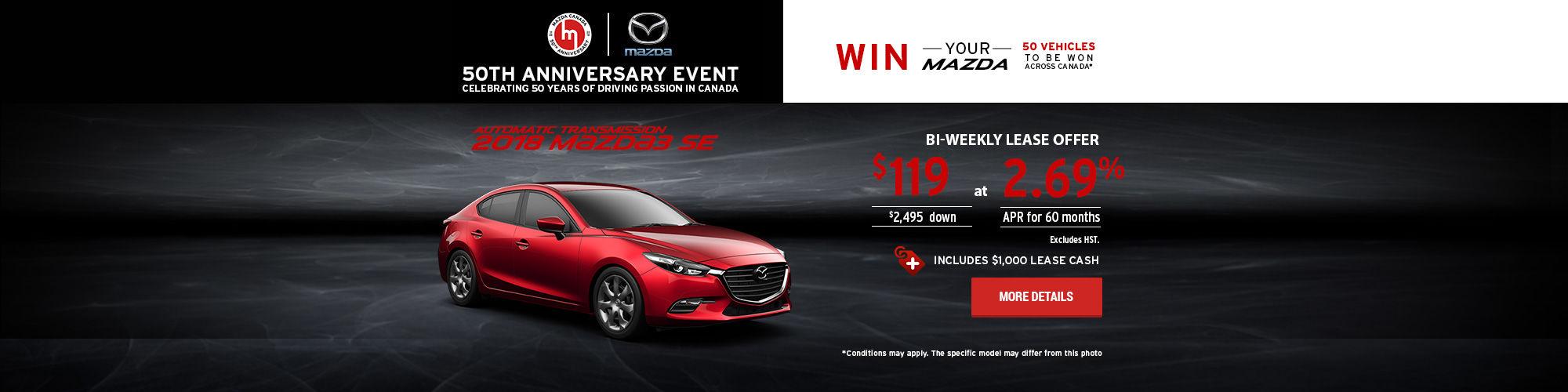 2018 Mazda3)