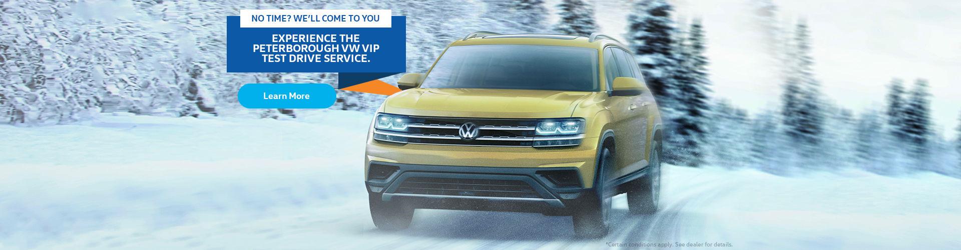VIP Test Drive Service