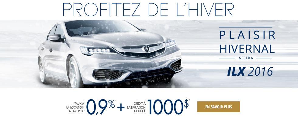 Profitez de l'hiver ILX