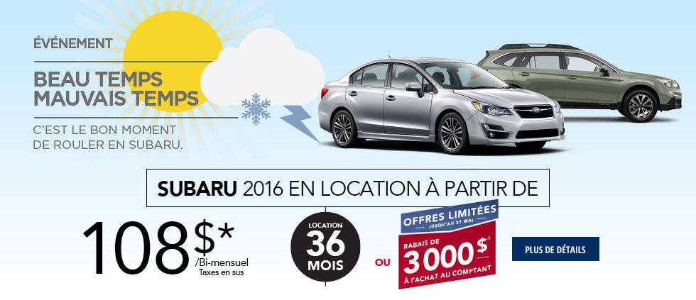 Promo Subaru Mai Event