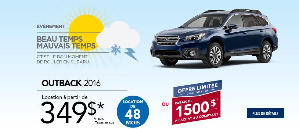 Promo Subaru Mai Outback