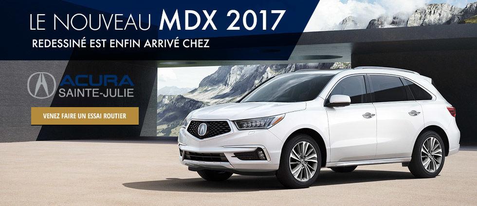 Le nouveau MDX 2017 redessiné est enfin arrivé