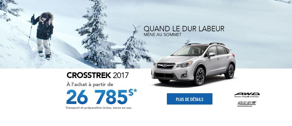 Promotion Janvier - Crosstrek
