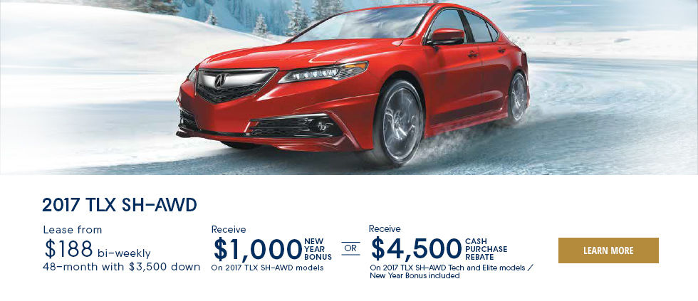 Engineered for the Elements - TLX