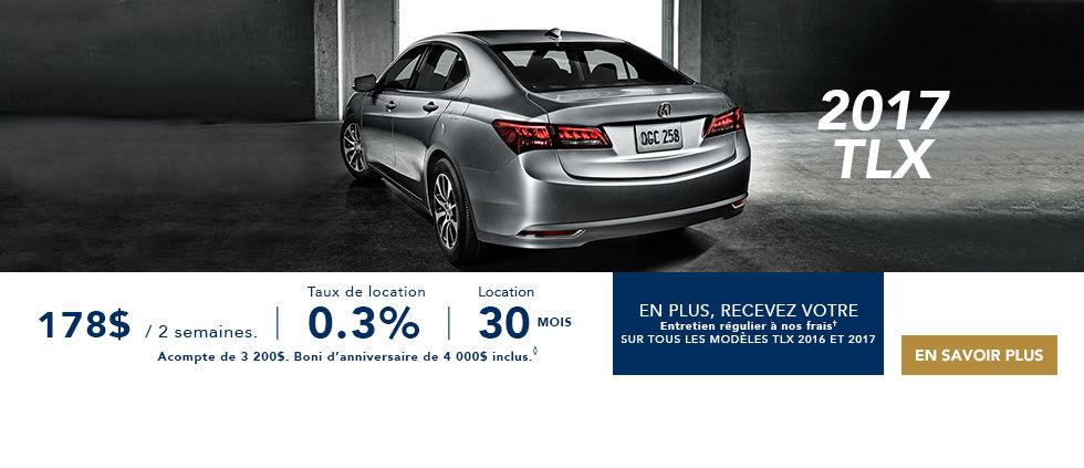 Promotions Acura Brossard - Ste Julie TLX
