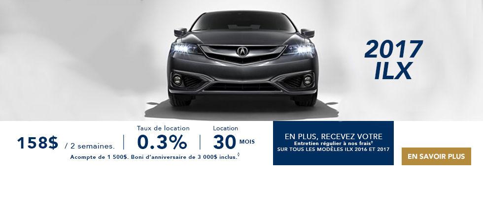 Promotions Acura Brossard - Ste Julie Fevrier ILX