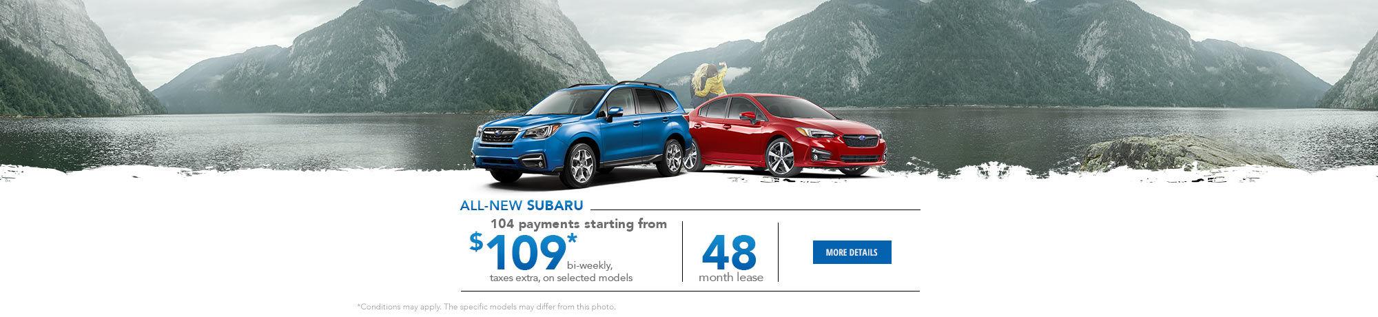 All-New Subaru - October