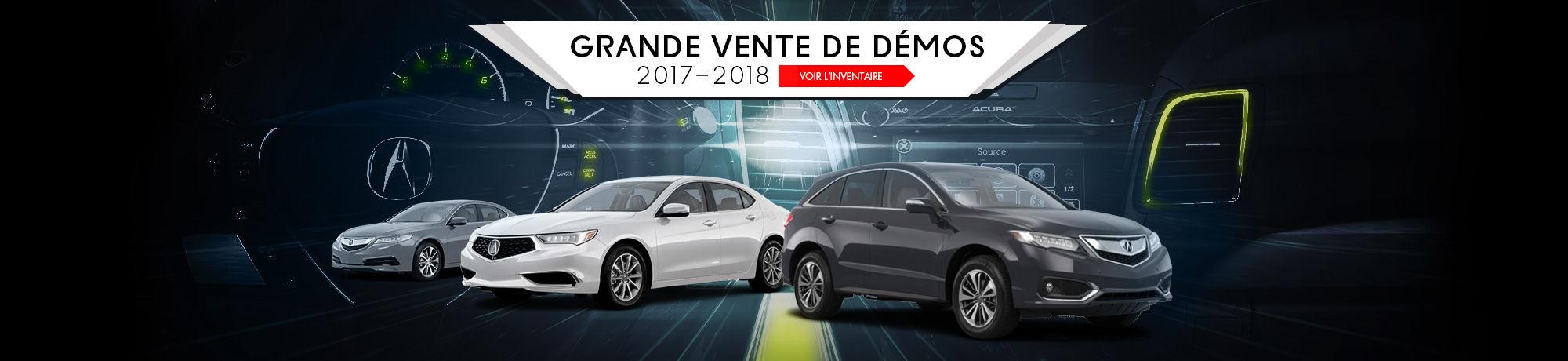 GRANDE VENTE DE DéMOS