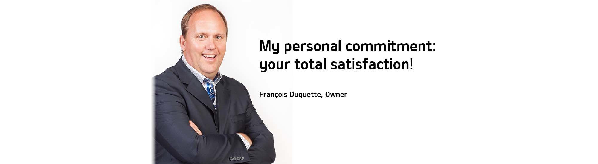 My commitment