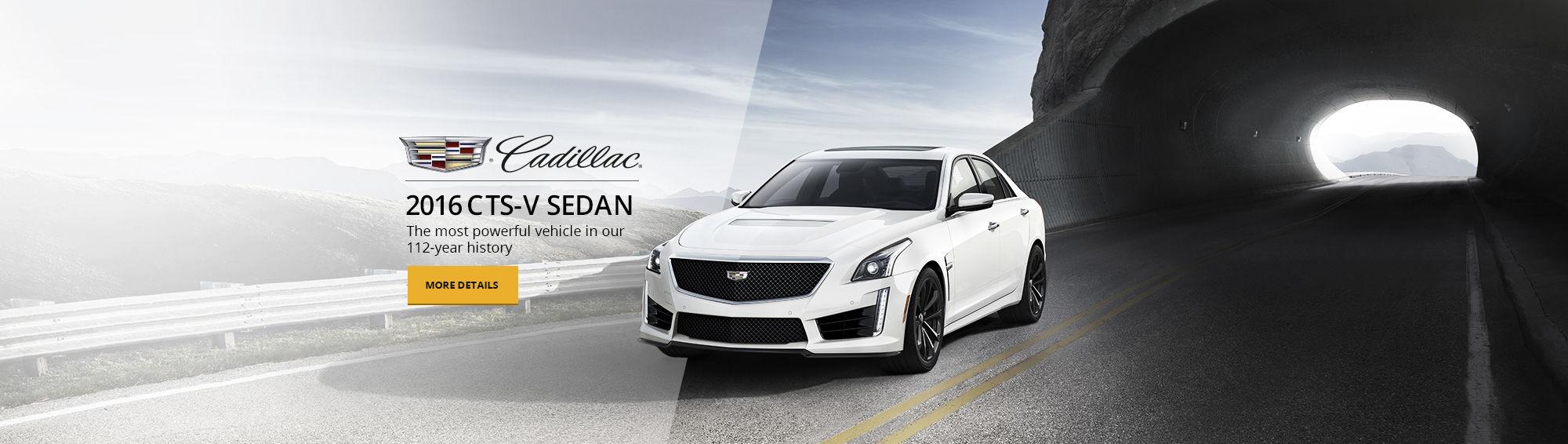 Cadillac - 2016 CTV-S