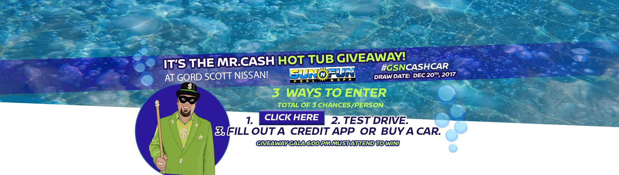 Mr. Cash Hot Tub Giveaway! (Desktop)