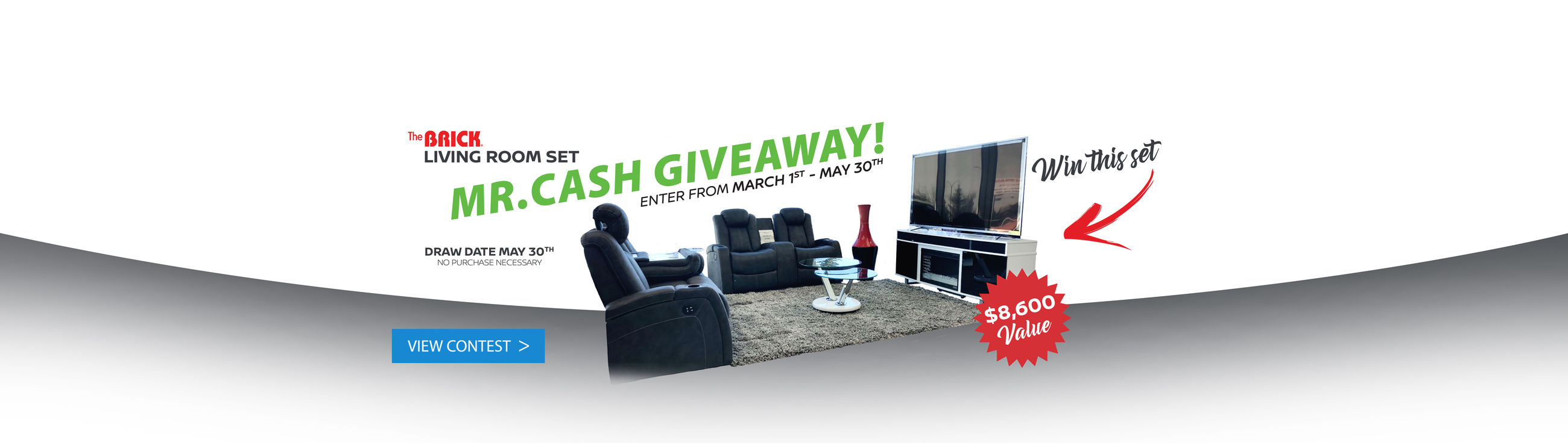 MR.CASH Living Room Set GIVEAWAY!
