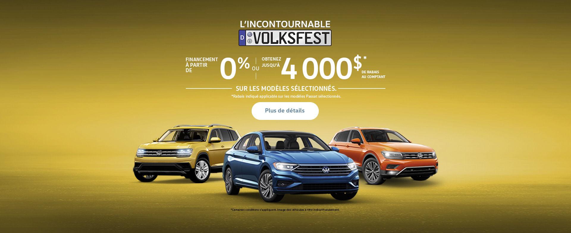 Événement Volkswagen! (QC)