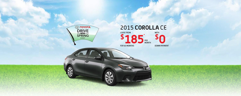 2015 Toyota Corolla - Toyota March