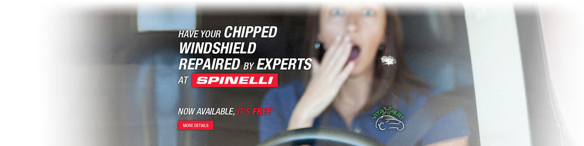 Have your chipped windshield repaired by experts at Spinelli Lexus