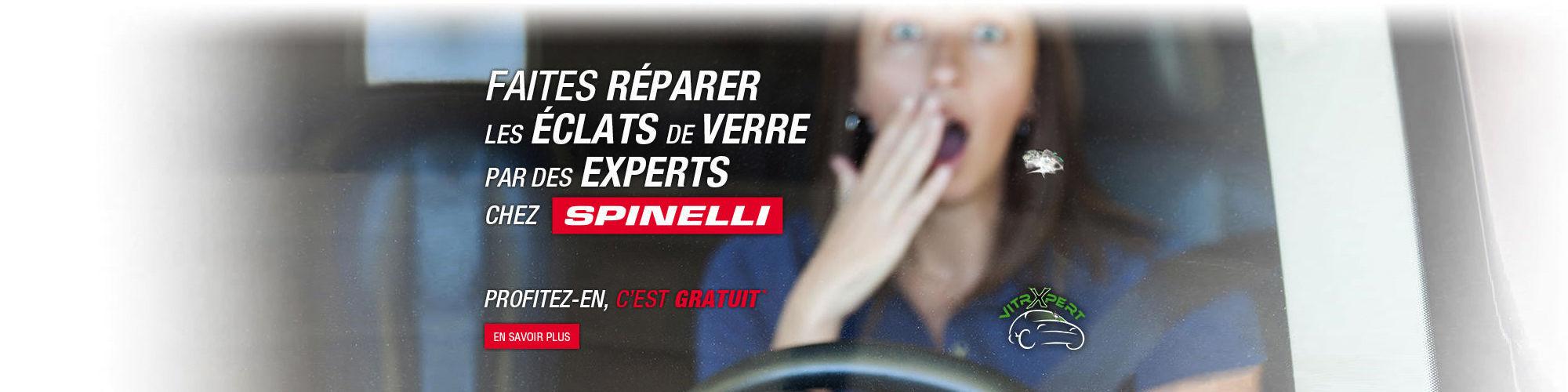 Faites réparer les éclats de verre par des experts chez Spinelli Lexus