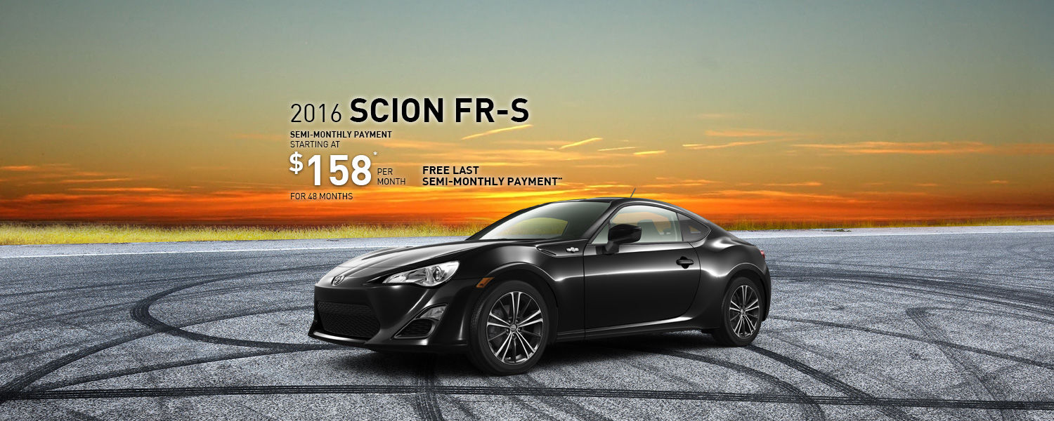 Drive the 2016 Scion FR-S