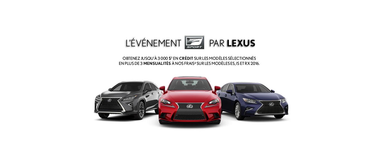 Événement FSport Lexus