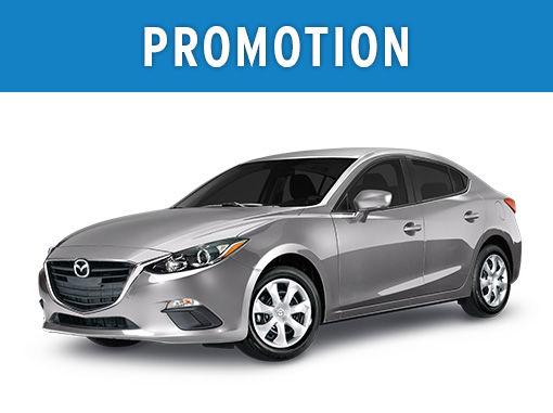 Mazda3 neuf en promotion à Montréal