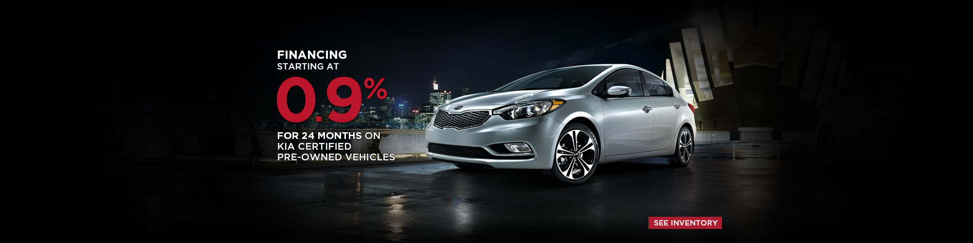 Kia Certified Pre-Owned Vehicles