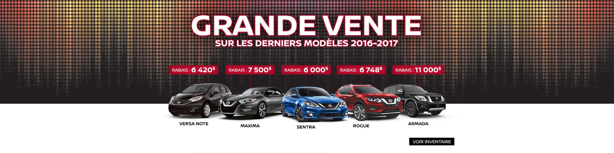 Grande Vente Nissan