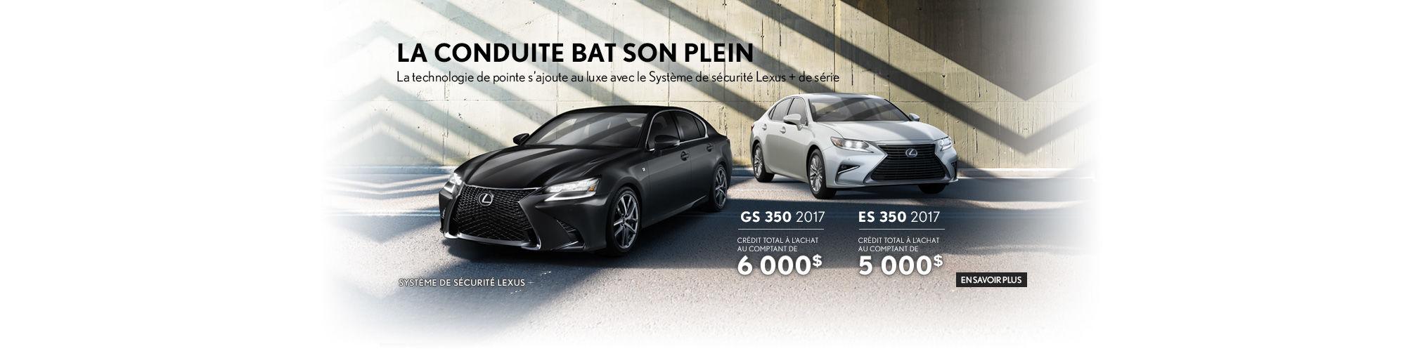 Lexus GS 350 et ES 350 - Promotion