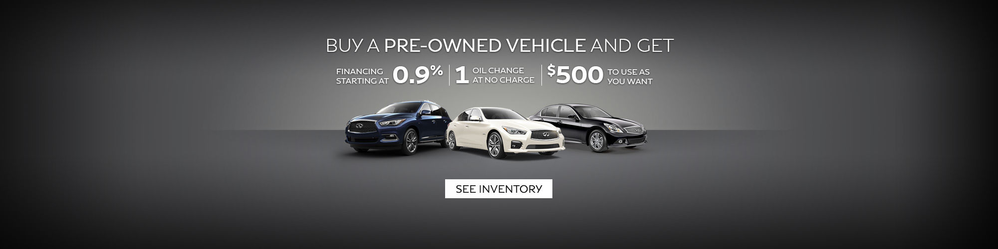 Infiniti Pre-owned Promotion