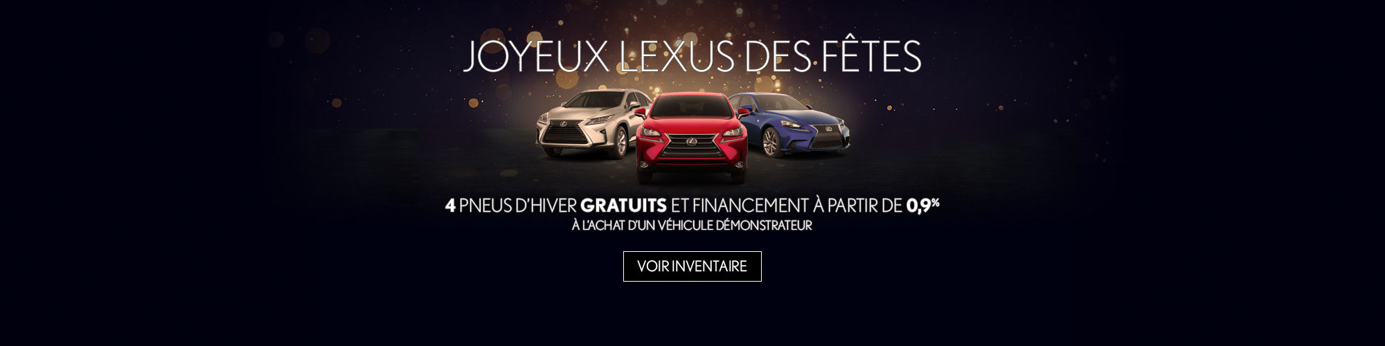 Vente de démos Lexus
