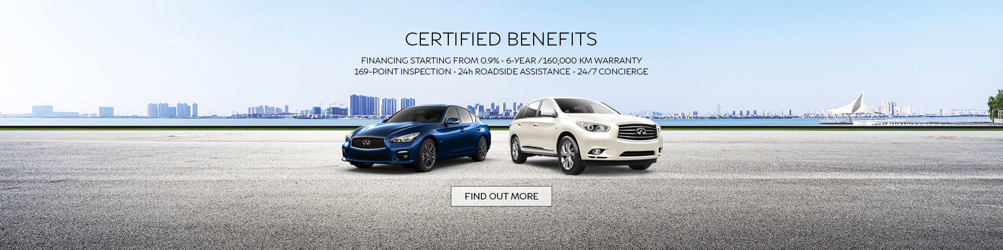 Infiniti Certified Pre-Owned Vehicles