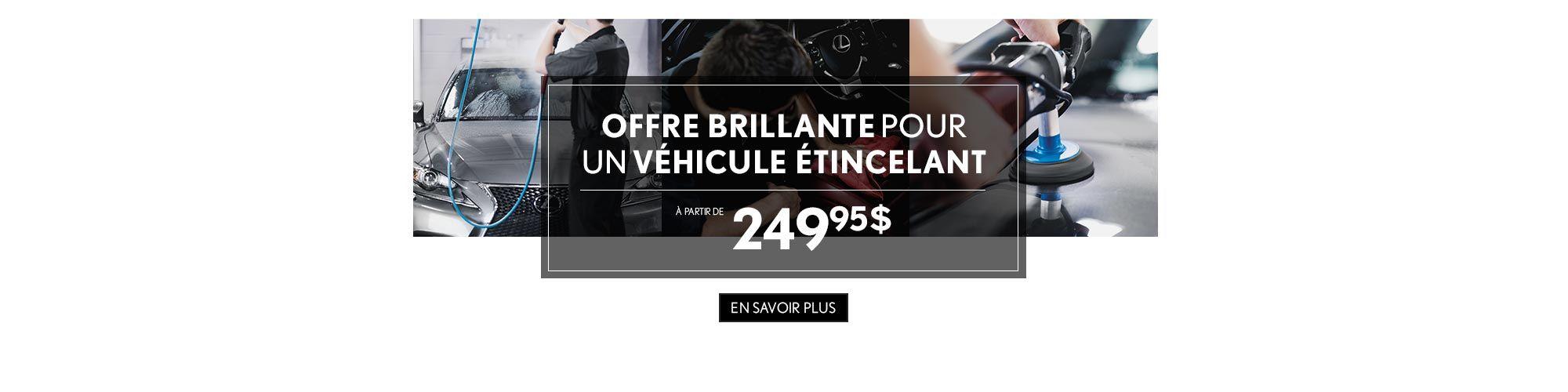 Promotion Esthétique Lexus