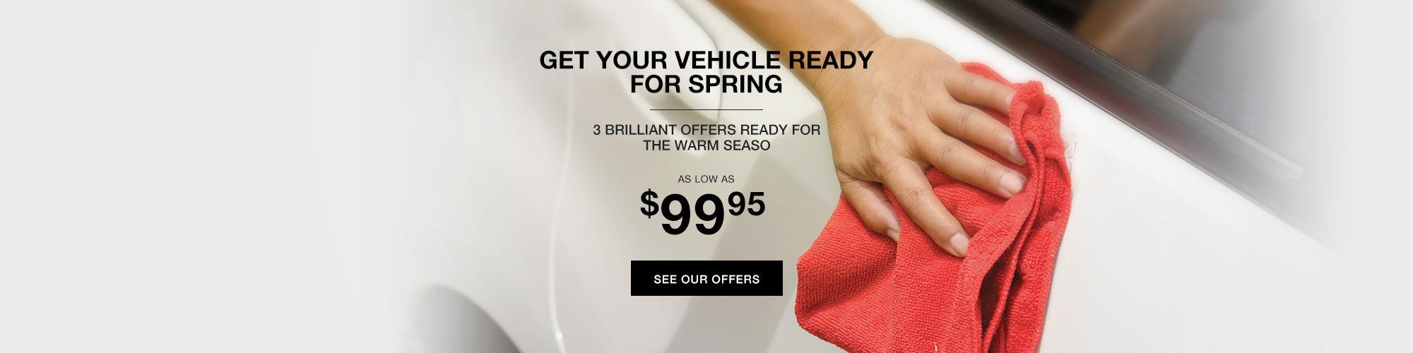 spring car detailing