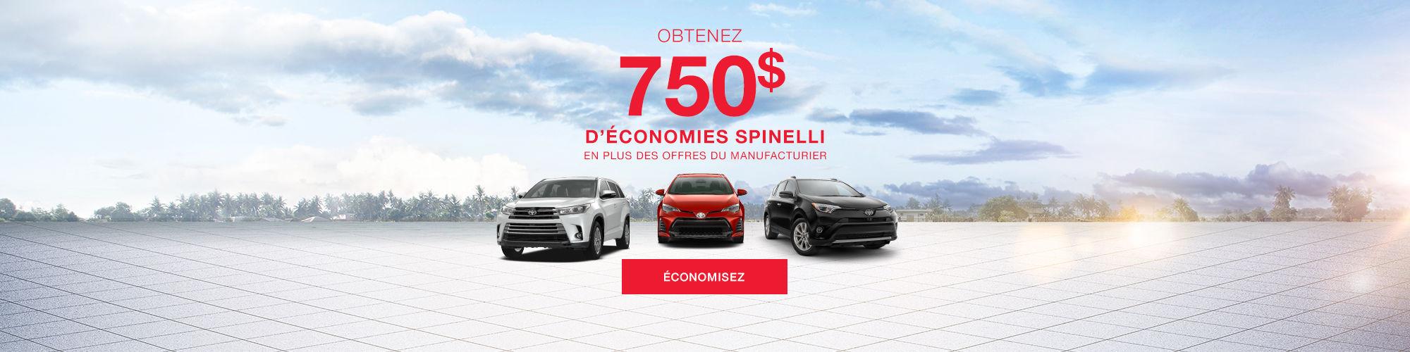 Économies Spinelli Toyota