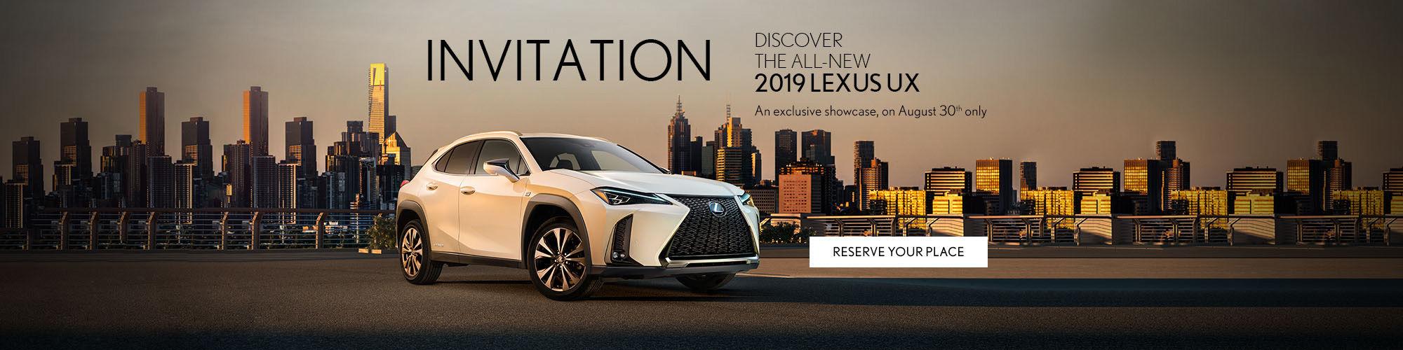 2019 Lexus UX - Lexus Pointe-Claire