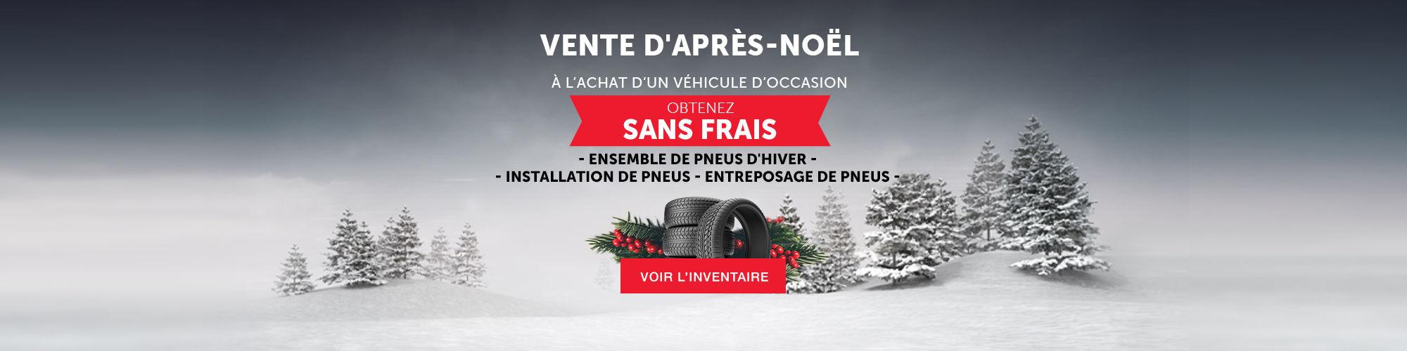 Vente d'après Noel Occasion Toyota
