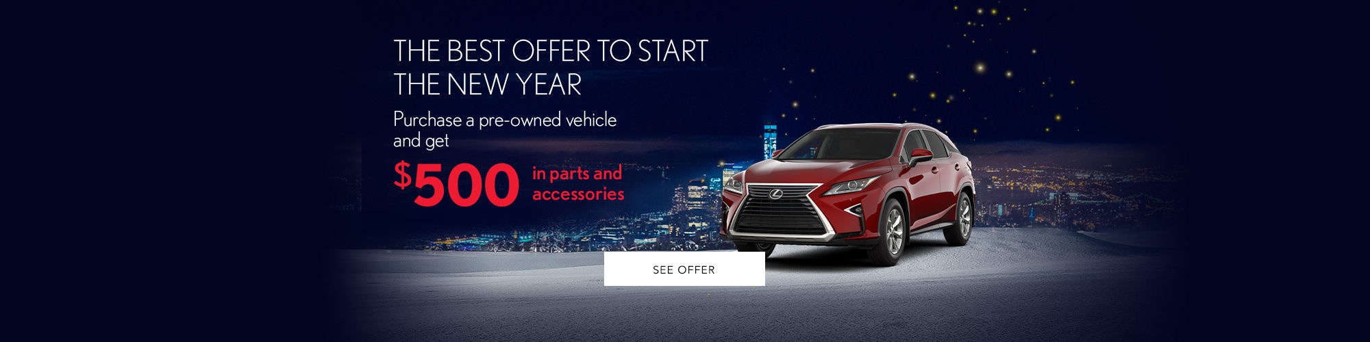 best pre-owned offer
