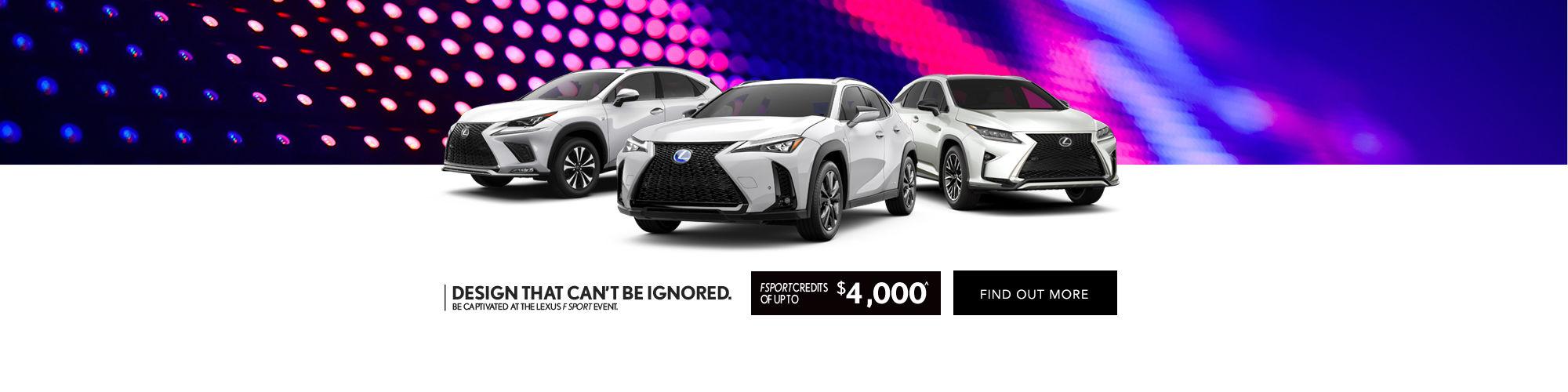Lexus F Sport Event