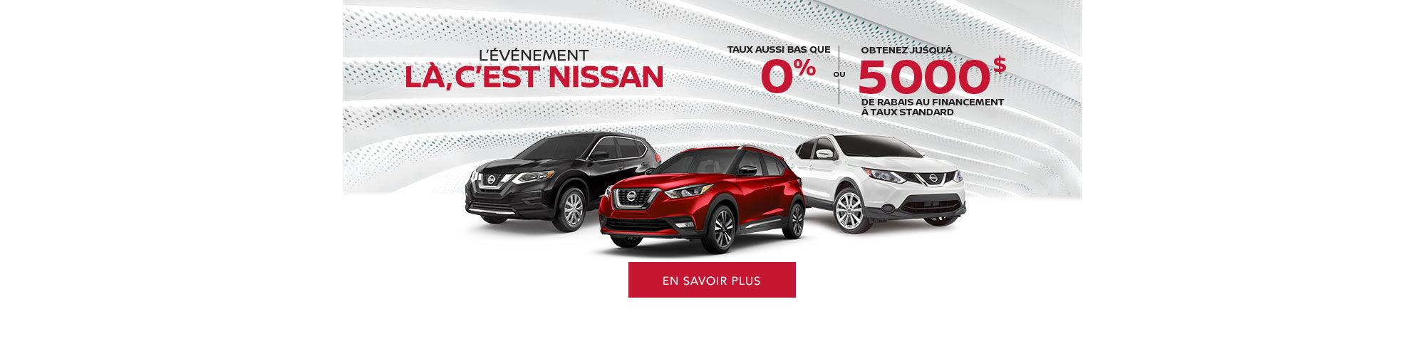L'Événement Là c'est Nissan