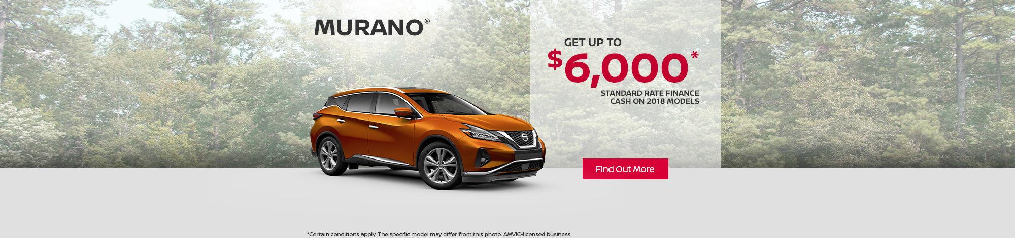 2018 Nissan Murano - Header - desktop