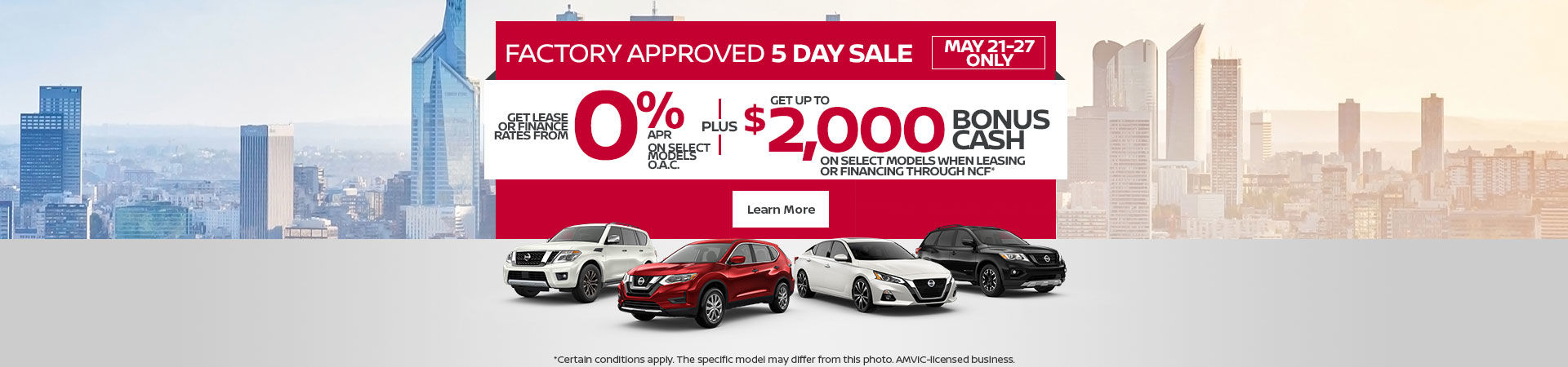 Nissan Event (5-day sale)