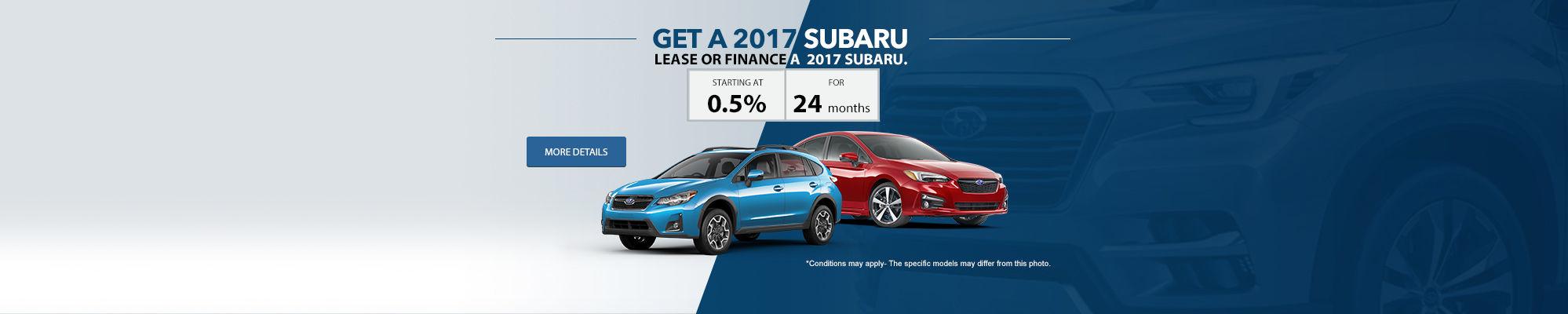 Get a 2017 Subaru
