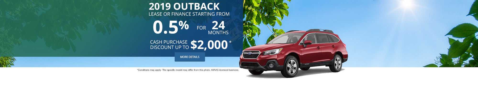 Get The 2019 Subaru Outback