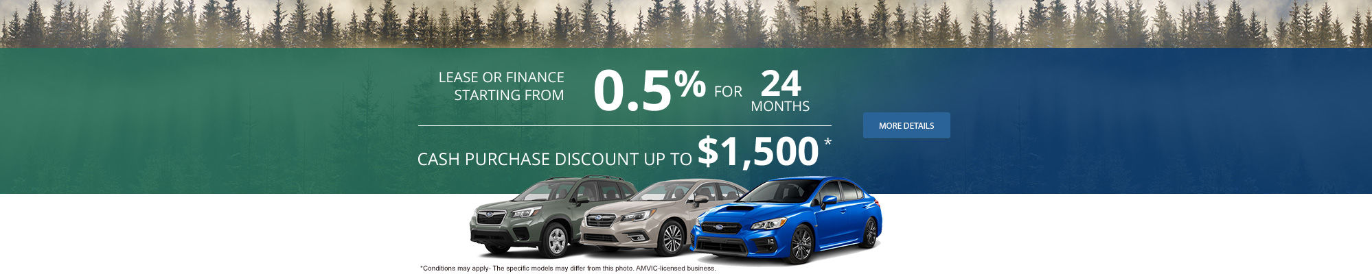 Subaru Monthly Sales Event!