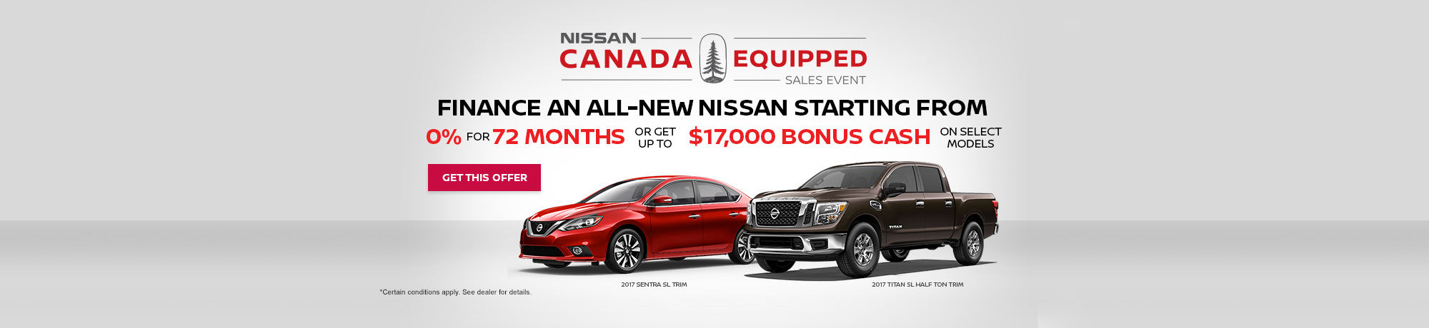 Nissan Canada Equipped
