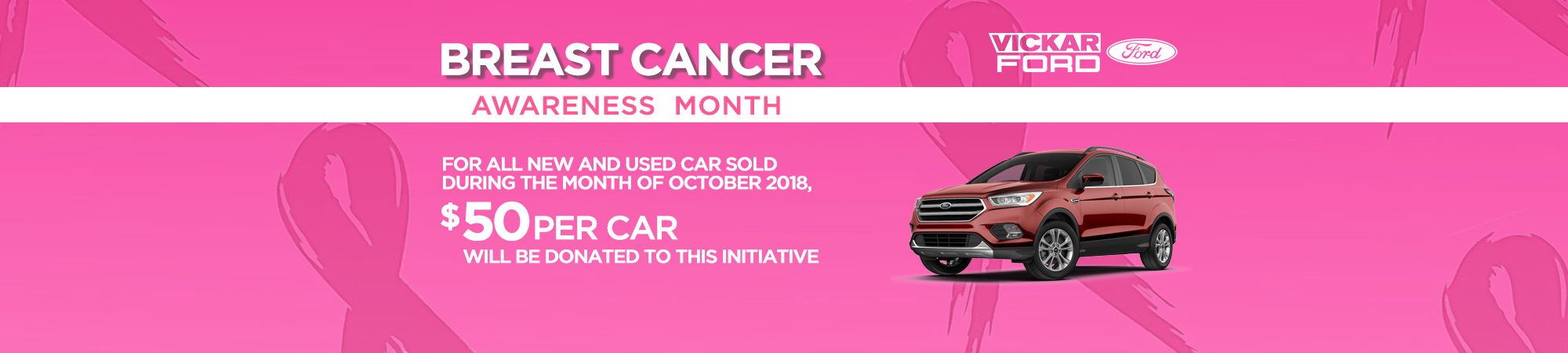 Vickar Ford Breast Awareness